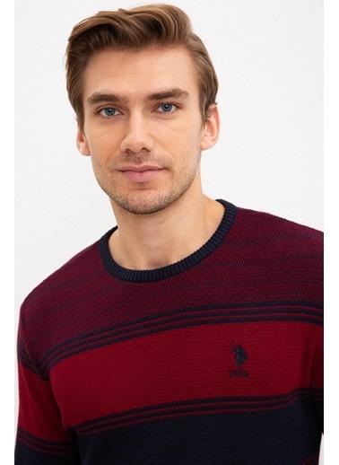 U.S. Polo Assn. Kazak Kırmızı